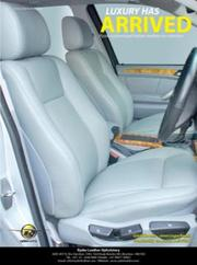 seat covers for BMW X5 by Ryder Leather Upholstery...