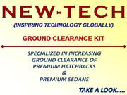New-tech Ground Clearance Kit for MULTI CARS