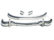 Mercedes W198 300SL Roadster brand new stainless steel bumpers