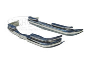 Mercedes Benz Fintail W111 coupe convertible bumpers,  stainless steel