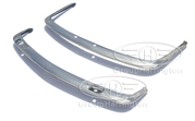 Alfa Romeo 2600 Sprint Bertone Bumpers,  Coupe,  stainless steel