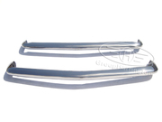 Peugeot 404 C stainless steel bumpers,  brand new