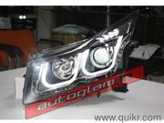 Cruze BMW Style Headlights with Xenon HID,  High & Low Beam
