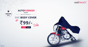 Buy Online Bike Body Cover In Faridabad,  Manufacturer Of Bike Covers.